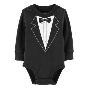 5/$25 Carter's Tuxedo Bodysuit